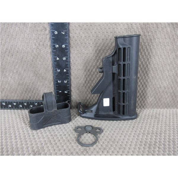 AR-15 Butt Stock & 2 Other Parts