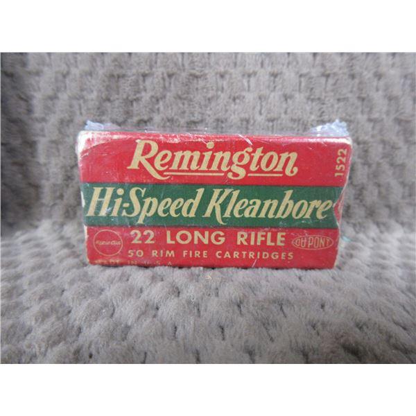 Collector Ammo - Remington Hi-Speed 22 LR - Box of 50