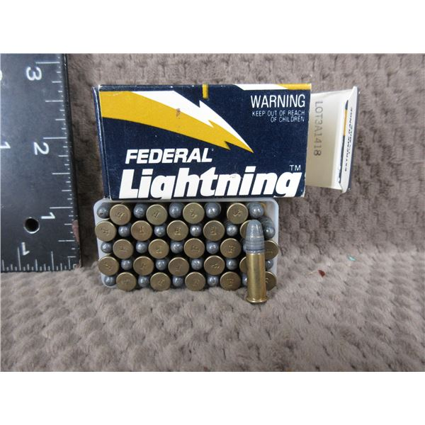 Collector Ammo - Federal Lightning 22 LR - Box of 50