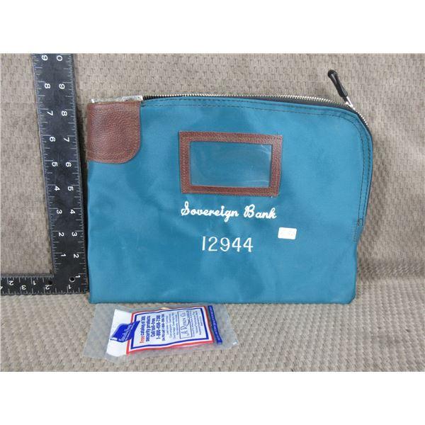 Sovereign Bank Night Deposit Bag