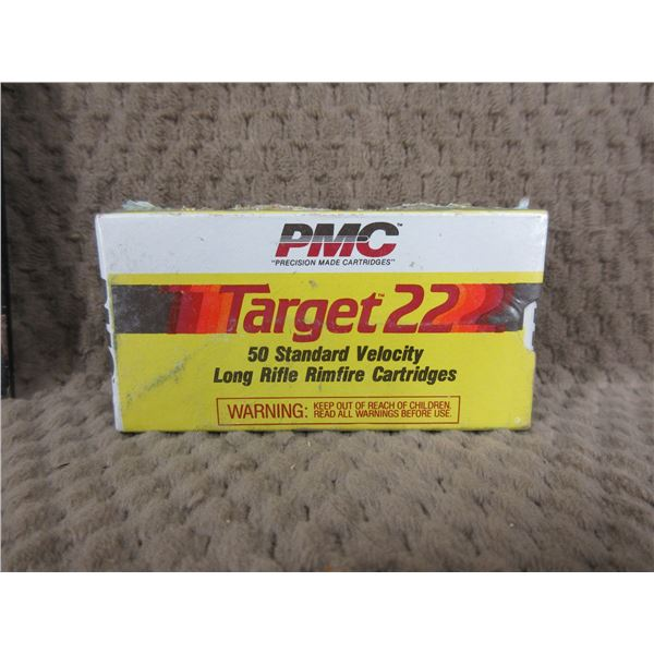 Collector Ammo - PMC Target 22 LR - Box of 50