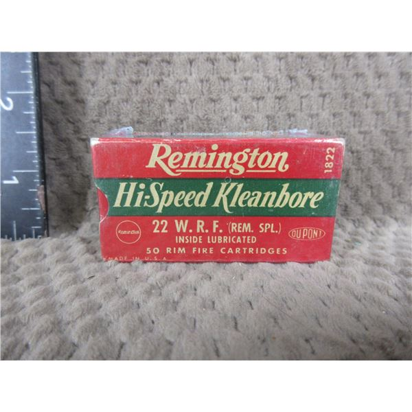 Collector Ammo - Remington Hi-Speed 22 WFR - Box of 50