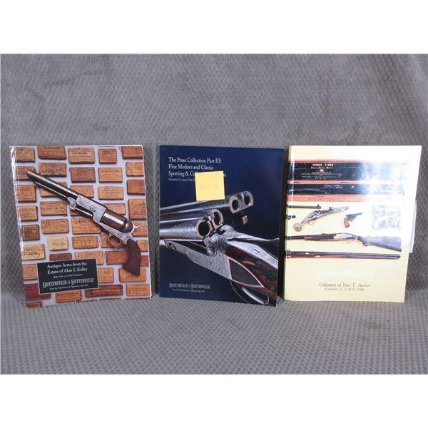 Auction  Firearms Catalogs Set of 3