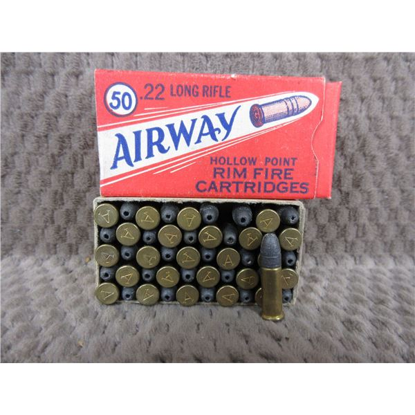 Collector Ammo - Gamble Stores Airway 22 LR - Box of 50