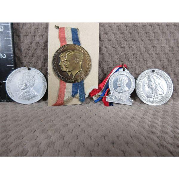 4 - British Medallions