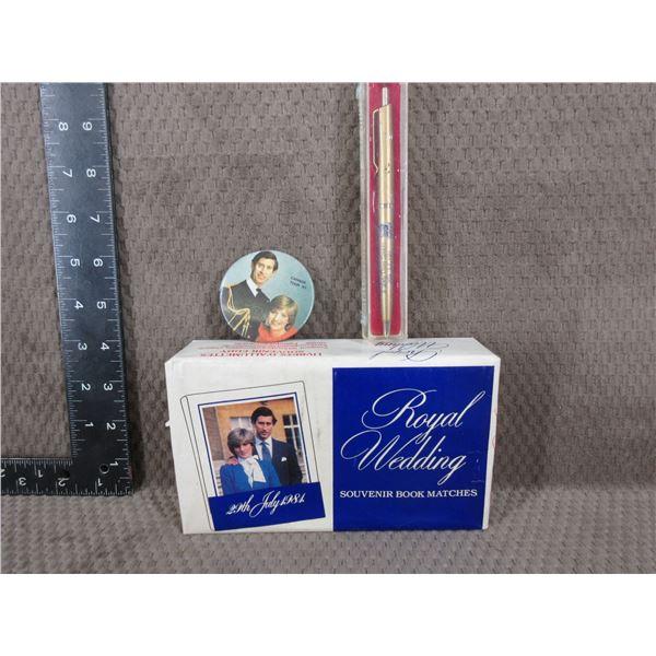 Prince Charles & Princess Diana Wedding Collectibles