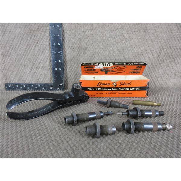 270 Win. - Lyman Ideal No. 310 Reloading Tool with Dies