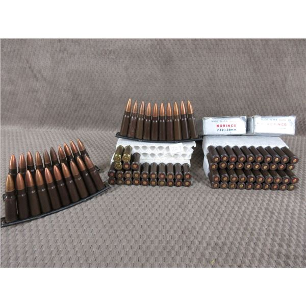 7.62X39 - 95 Rounds with 3 stripper clips