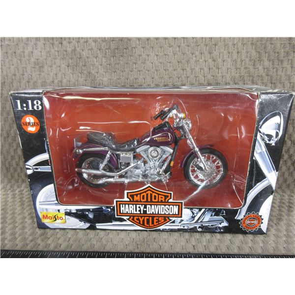 Harley Davidson Motorcycle 1:18 Diecast