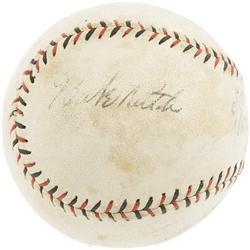 1920's Babe Ruth, Bob Meusel Signed Baseball