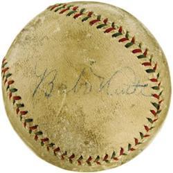 1927 Babe Ruth & Lou Gehrig Signed Baseball