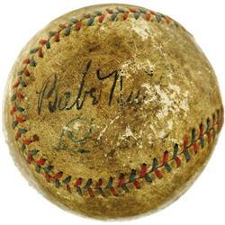 1930's Babe Ruth & Lou Gehrig Signed Baseball