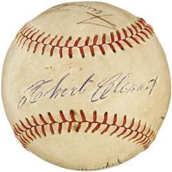 1960's Roberto Clemente Signed Baseball
