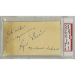 1957 Roger Maris Signed Government Postcard