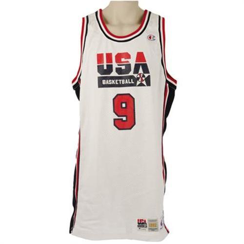 brand new d8ea6 21d19 1992 Michael Jordan Olympics Game Worn Jersey