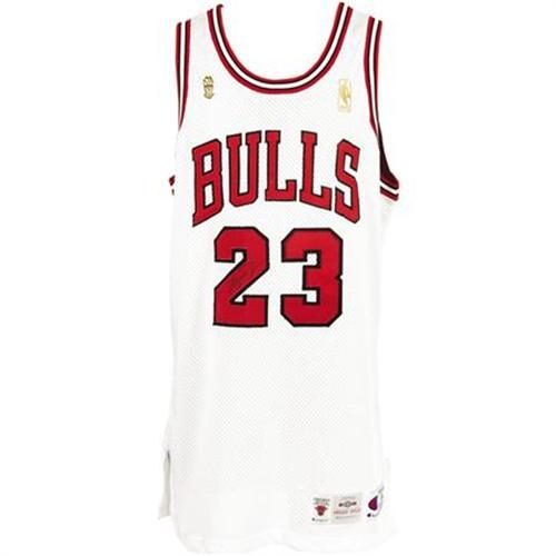 huge selection of 5458a ed358 1996-97 Michael Jordan Finals Game Worn Jersey