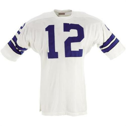 big sale 8885d 47ff1 Early 1970's Roger Staubach Game Worn Jersey