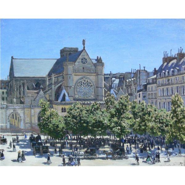 Claude Monet - Germain Auxerrois, Paris 1867