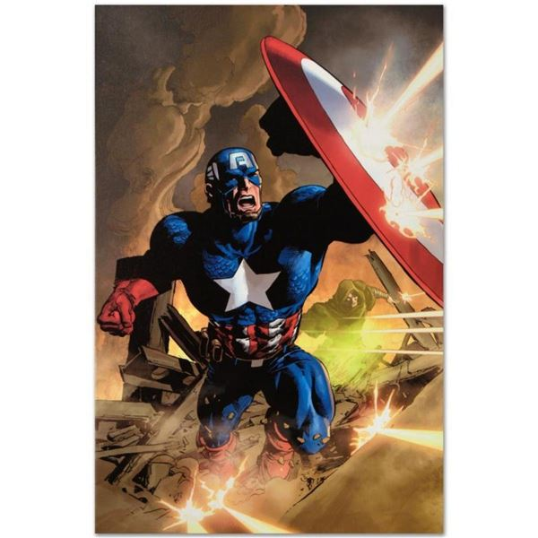"""Marvel Comics """"Secret Avenger #12"""" Numbered Limited Edition Giclee on Canvas by"""
