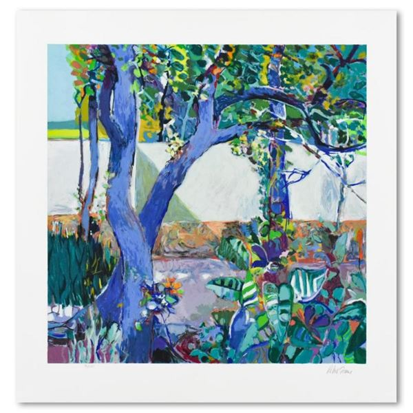 """Robert Frame, """"Walled Garden"""" Limited Edition Serigraph, Numbered and Hand Signe"""