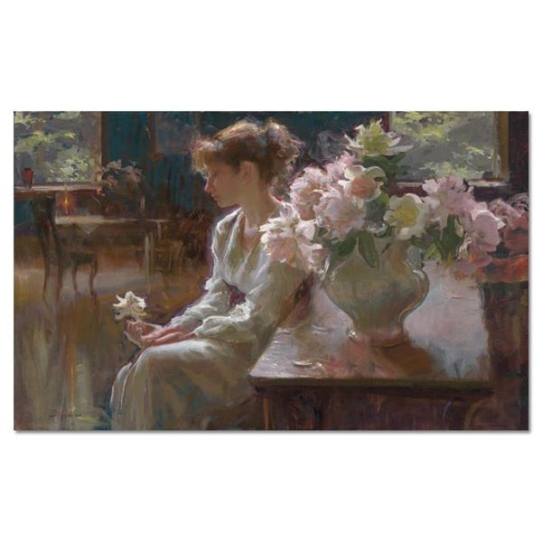 """Dan Gerhartz, """"The Moment"""" Limited Edition on Canvas, Numbered and Hand Signed w"""