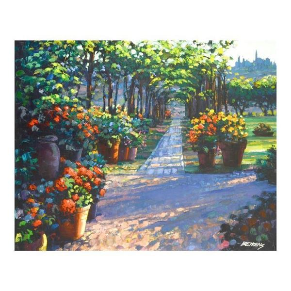 """Howard Behrens (1933-2014), """"Siena Arbor"""" Limited Edition on Canvas, Numbered an"""
