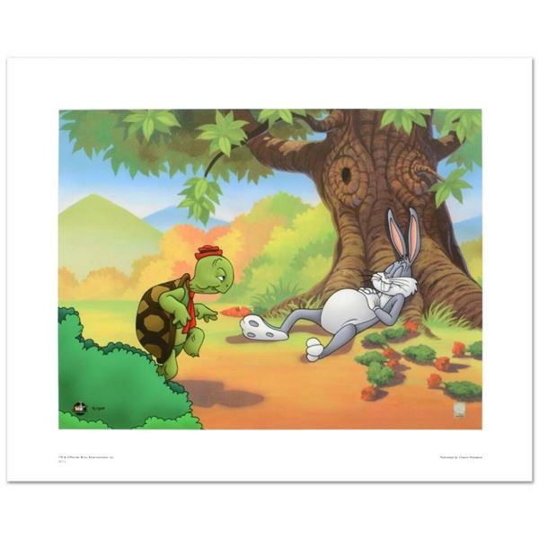 """""""Snooze, You Lose"""" Limited Edition Giclee from Warner Bros., Numbered with Holog"""