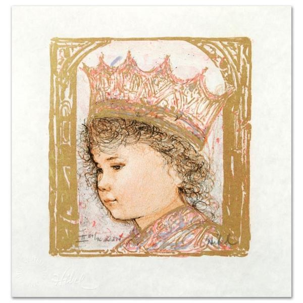 """""""Celia"""" Limited Edition Lithograph by Edna Hibel (1917-2014), Numbered and Hand"""