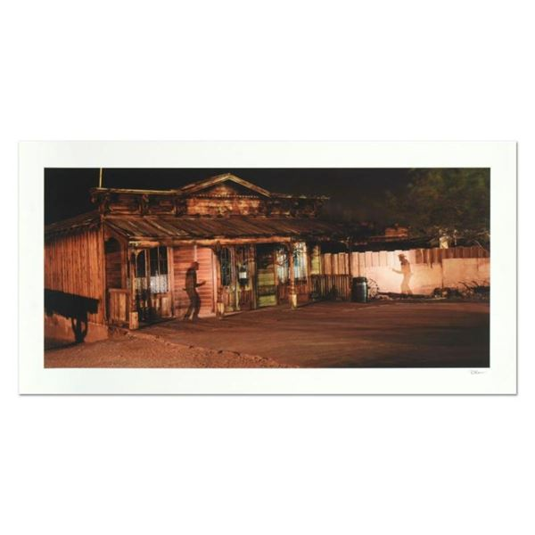 """Robert Sheer, """"Calico Ghost Town Gunfight"""" Limited Edition Single Exposure Photo"""