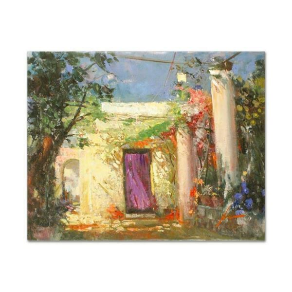 """Pino (1939-2010), """"In the Shadows"""" Artist Embellished Limited Edition on Canvas,"""