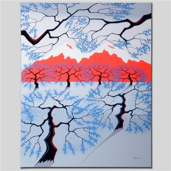 """""""Red Mountains"""" Limited Edition Giclee on Canvas by Larissa Holt, Numbered and S"""
