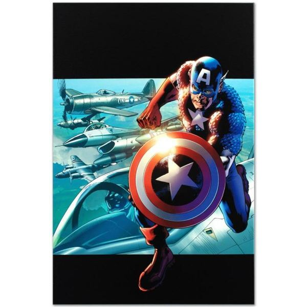 """Marvel Comics """"Captain America: Man Out Of Time #2"""" Numbered Limited Edition Gic"""