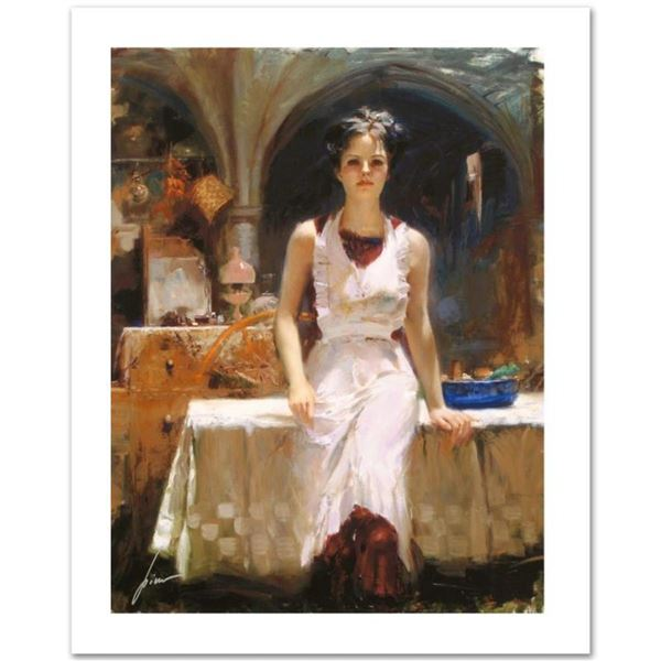 """Pino (1931-2010), """"Deborah Revisited"""" Limited Edition on Canvas, Numbered and Ha"""