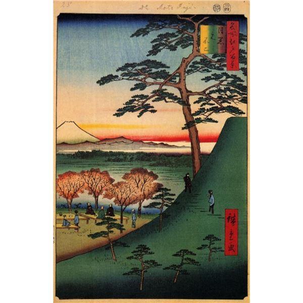 Hiroshige  - Original Fu, Mequero