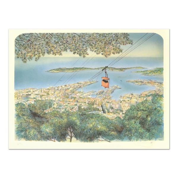 """Rolf Rafflewski, """"Toulon"""" Limited Edition Lithograph, Numbered and Hand Signed."""