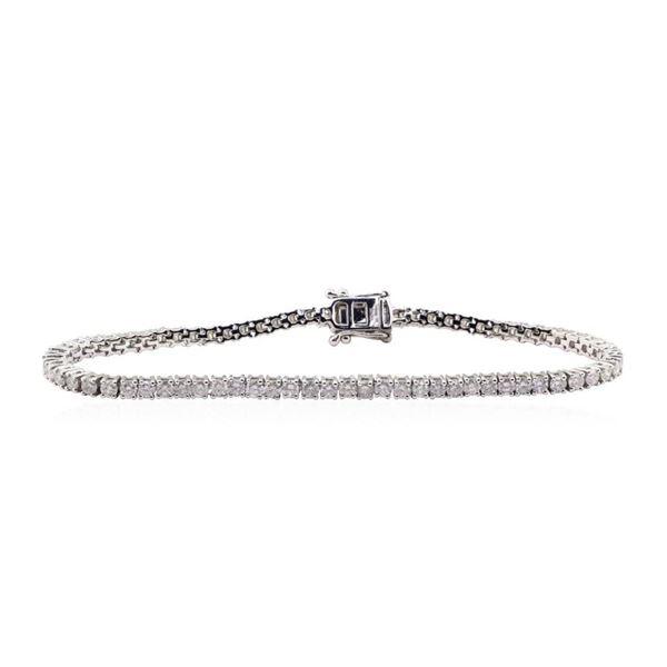 4.76 ctw Diamond Bracelet - 14KT White Gold