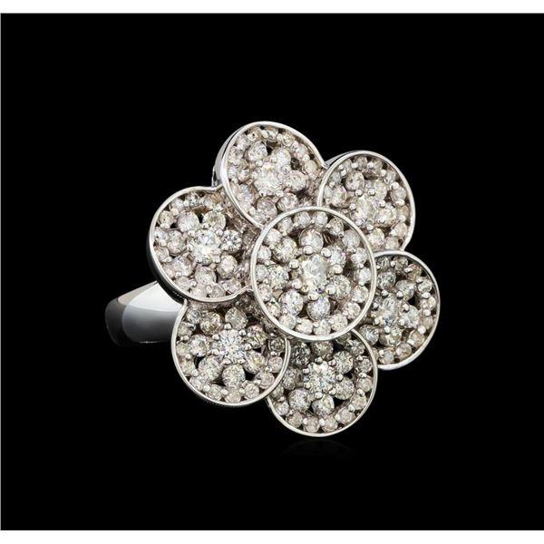 14KT White Gold 2.02 ctw Diamond Ring