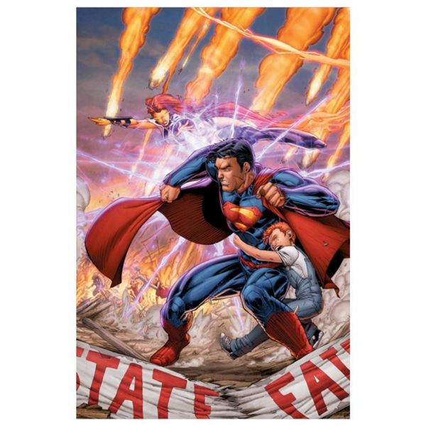 """DC Comics, """"Superman #29"""" Numbered Limited Edition Giclee on Canvas by Brett Boo"""