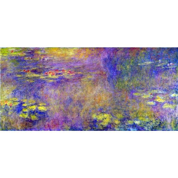 Claude Monet - Water Lilies - (Yellow Nirvana)
