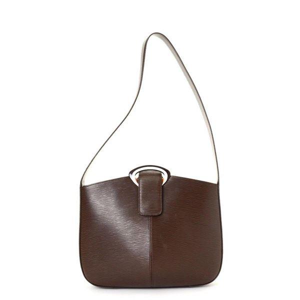 Louis Vuitton Brown Moka Reverie Shoulder Handbag