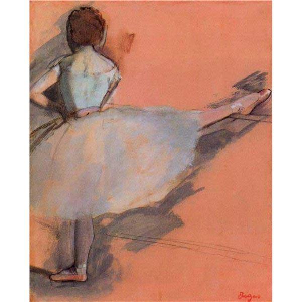 Edgar Degas - Dancer At The Bar #1