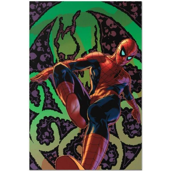 """Marvel Comics """"Amazing Spider-Man #524"""" Numbered Limited Edition Giclee on Canva"""