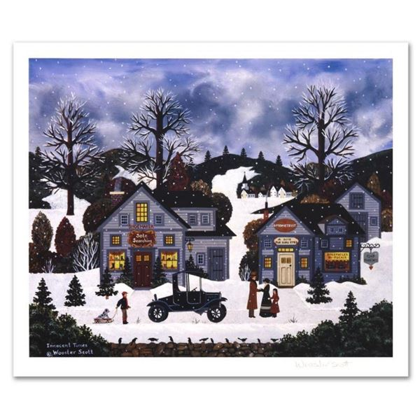 """Jane Wooster Scott, """"Innocent Times"""" Hand Signed Limited Edition Lithograph with"""