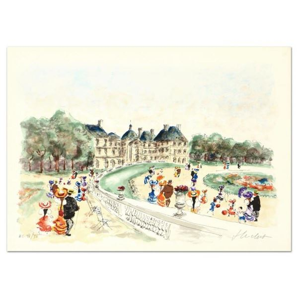 Urbain Huchet,  Bridge II  Limited Edition Lithograph, Numbered and Hand Signed.