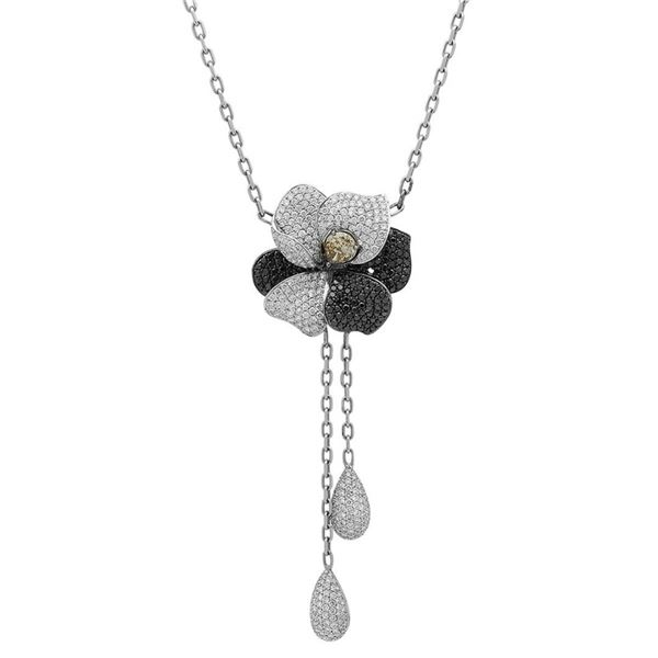 18k Gold 5.38CTW Diamond Necklace, (VS2 /G)