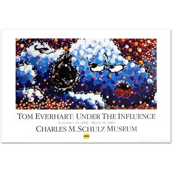 """""""Stalking In LA"""" Fine Art Poster by Renowned Charles Schulz Protege Tom Everhart"""