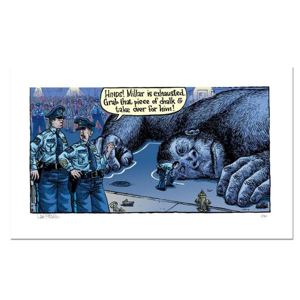 """Bizarro! """"King Kong Dead"""" Numbered Limited Edition Hand Signed by creator Dan Pi"""