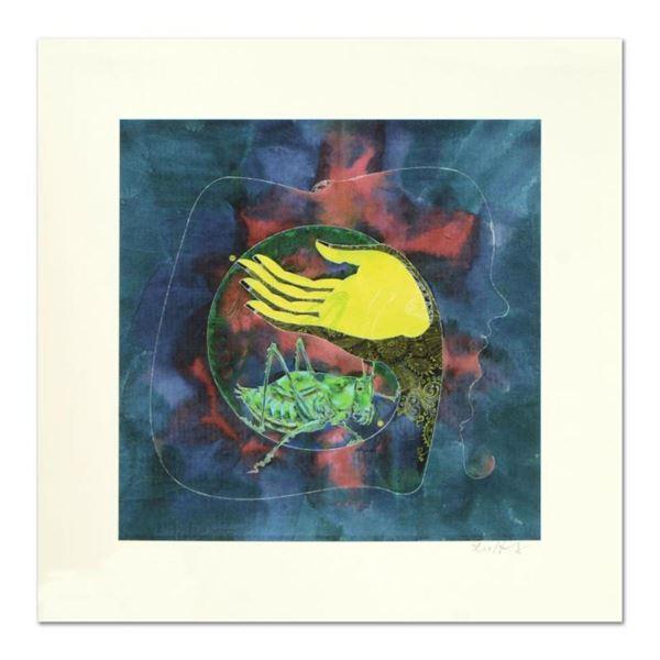 "Lu Hong ""Mudra Buddhashramana, Beyond Misery"" Hand Signed Limited Edition Giclee"