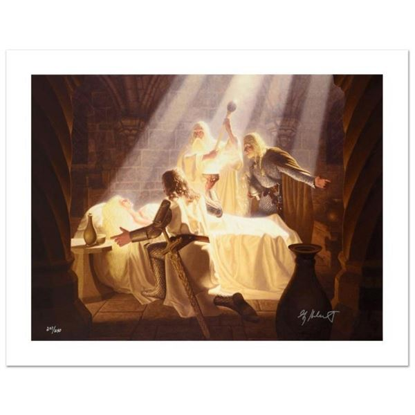 """""""The Healing Of Eowyn"""" Limited Edition Giclee on Canvas by The Brothers Hildebra"""