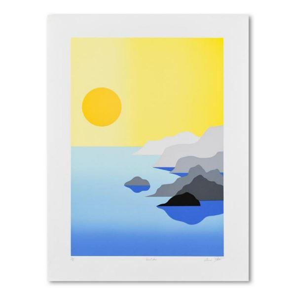 """Armond Fields (1930-2008), """"Quite Sea"""" Limited Edition Hand Pulled Original Seri"""